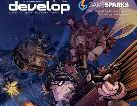 World War Toons is on the cover of Develop magazine!